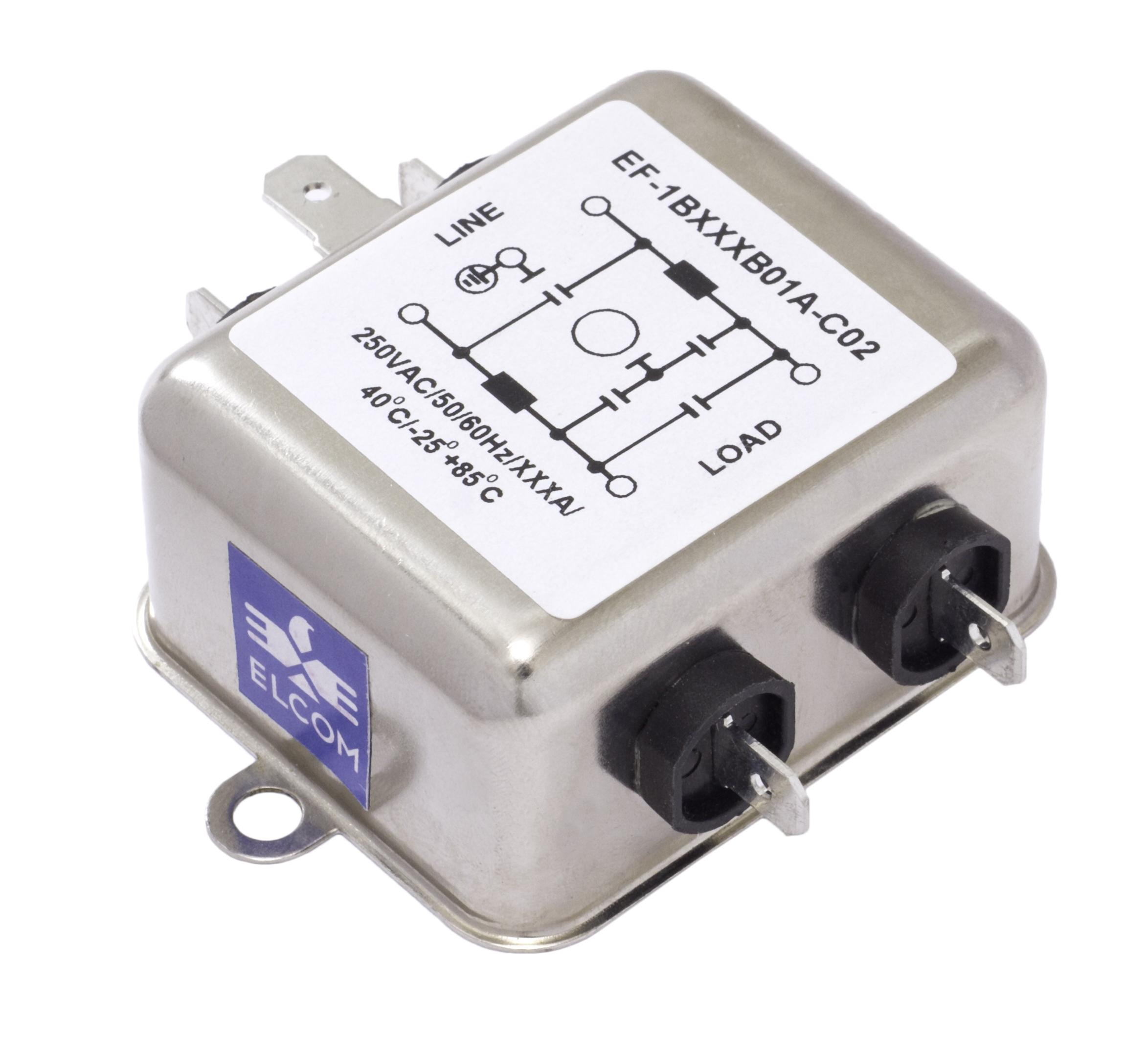 EMI-RFI Filters EF-1B010B01A-C02
